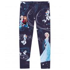 Legíny Disney Frozen tmavo modré