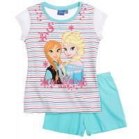 Pyžamo letné Disney Ľadové kráľovstvo bielo-modré