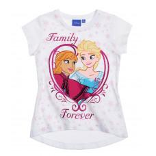 Tričko Disney Elsa a Anna s krátkym rukávom Forever