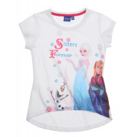 Tričko Disney Frozen s krátkym rukávom (Sisters forevers)
