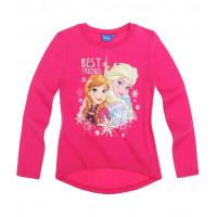 Tričko Disney Frozen s dlhým rukávom ružové