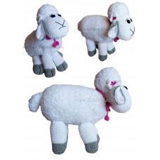 Háčkovaná huňatá ovečka