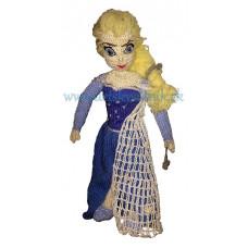 Háčkovaná ľadová princezná