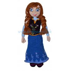 Háčkovaná princezná Anna