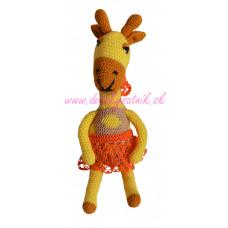 Háčkovaná Slečna Žirafka