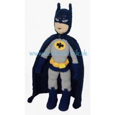 Háčkovaný komiksový hrdina Batman