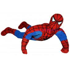 Háčkovaný komiksový hrdina Spiderman