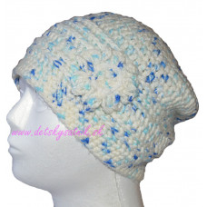 Detská háčkovaná čiapka