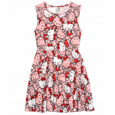Letné dievčenské šaty Hello Kitty
