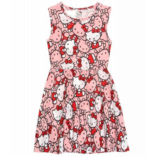 c20fd85e549b Letné dievčenské šaty Hello Kitty ...