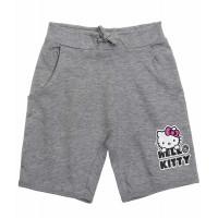 Dievčenské šortky Hello Kitty šedé