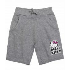 Dievčenské šortky Hello Kitty šedé č.128