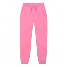 Dievčenské joggingové tepláky ružové