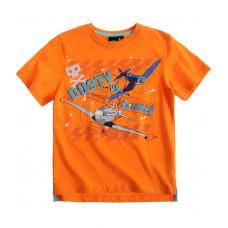 Tričko Disney Lietadlá s krátkym rukávom oranžové