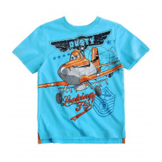 Tričko Disney Lietadlá s krátkym rukávom modré