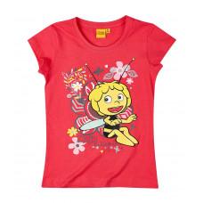 Dievčenské tričko Včielka Maja silno ružové
