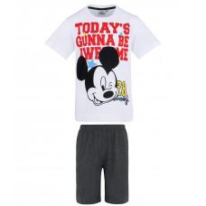 Chlapčenské letné pyžamo Disney Mickey Mouse tmavé
