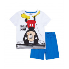 Pyžamo chlapčenské letné Disney Mickey Mouse biele