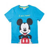 Chlapčenské letné tričko Mickey Mouse modré