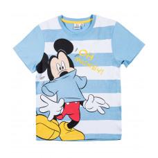 Chlapčenské letné tričko Mickey Mouse pásikavé