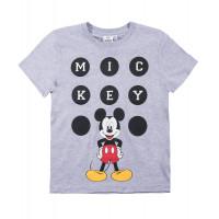 Chlapčenské letné tričko Mickey Mouse šedé č.110