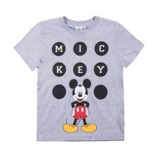 Chlapčenské letné tričko Mickey Mouse šedé 104,110
