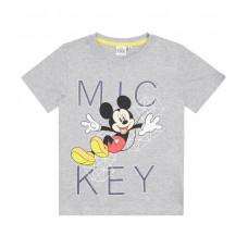 Chlapčenské tričko letné Mickey Mouse šedé