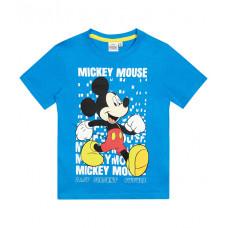 Chlapčenské letné tričko Mickey Mouse tyrkysové