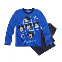 Pyžamo chlapčenské dlhé Mickey Mouse modré