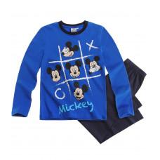 Pyžamo chlapčenské dlhé Mickey Mouse modré 128
