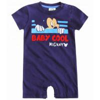 Letný overal Disney Mickey Mouse modrý