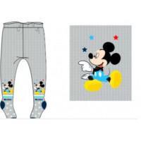Chlapčenské pančušky Mickey Mouse šedé