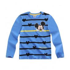 Tričko Disney Mickey Mouse s dlhým rukávom modré