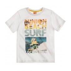 Tričko Mimoni s krátkym rukávom biele