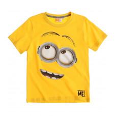 Tričko Mimoni s krátkym rukávom žlté