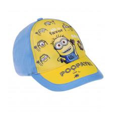 Chlapčenská šiltovka Mimoni žltá
