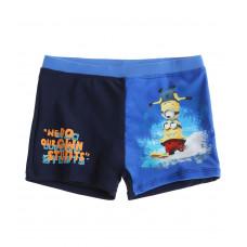 Chlapčenské plavky Mimoni tmavé