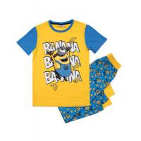 Pyžamo Mimoni s krátkym rukávom banana