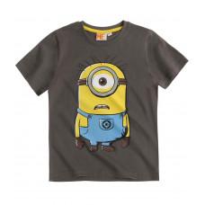 Tričko Mimoň s krátkym rukávom šedé