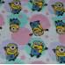 Dievčenská nočná košeľa Mimoni fuchsia