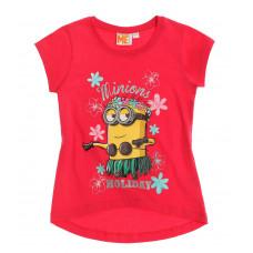 Mimoni dievčenské tričko ružové