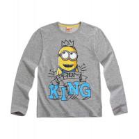 """Tričko Mimoni s dlhým rukávom """"king"""""""