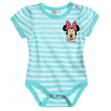 Kojenecké dievčenské body Disney Minnie pásikavé