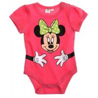 Kojenecké dievčenské body Disney Minnie ružové