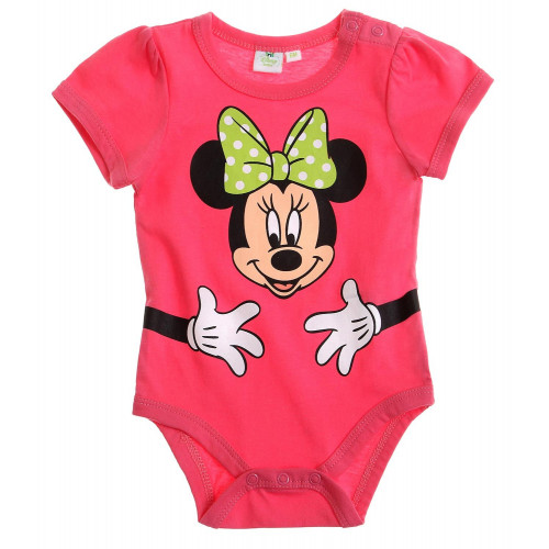 1ba29abb5 Kojenecké dievčenské body Disney Minnie ružové | Oblečenie pre deti