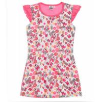 Nočná košeľa Disney Minnie ružová letná