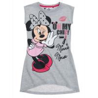 Letná nočná košeľa Disney Minnie šedá