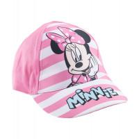 Dievčenská šiltovka Minnie ružová