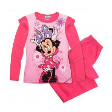 Dlhé dievčenské pyžamo Disney Minnie fuchsia