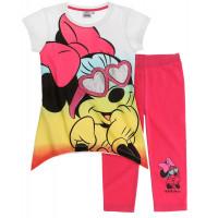 Tričko s legínami Disney Minnie okuliare